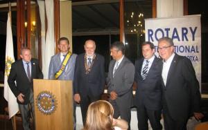 Junta del Rotary Club Olot Garrotxa