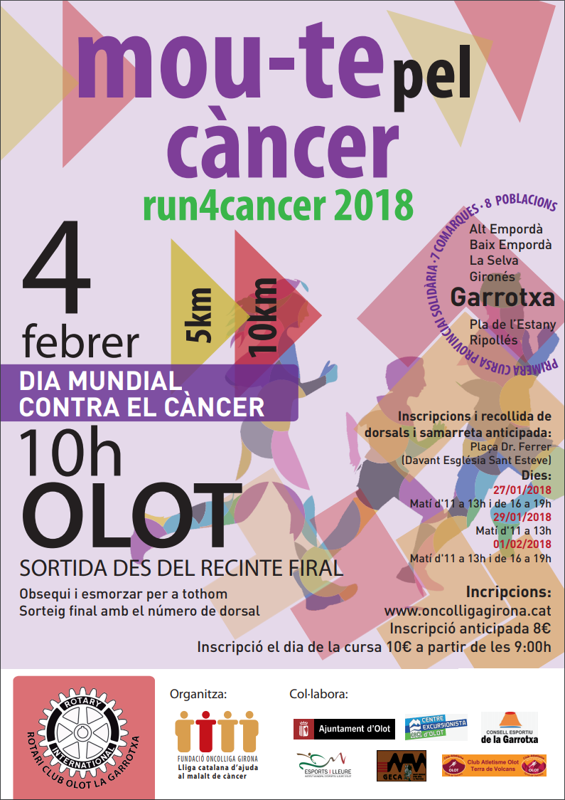 Run4cancer 2018